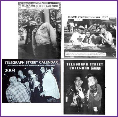 Telegraph Street Calendars